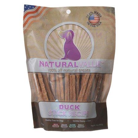 Loving Pets Natural Value Duck Sticks 14 oz - Pack of 3 - Pets Of Oz