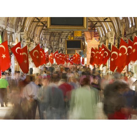 Grand Bazaar, Sultanahmet, Istanbul, Turkey Print Wall Art By Gavin (Best Time To Visit Grand Bazaar Istanbul)