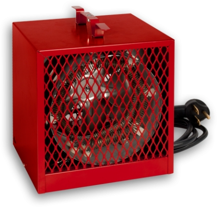 Stelpro ASCH40T Red Construction Heater 4kW 240V