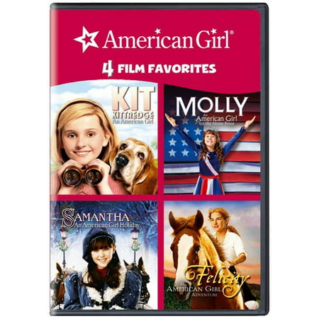 4 KID FAVORITES-AMERICAN GIRL (DVD/4 DISC/KIT/MOLLY/SAMANTHA/FELICITY) (DVD)](Girl From Halloween Town 4)