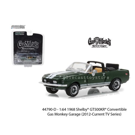 - GREENLIGHT 1:64 HOLLYWOOD SERIES 19 - GAS MONKEY GARAGE - 1968 SHELBY GT500KR CONVERTIBLE 44790-D
