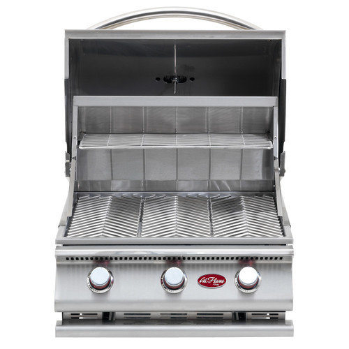 CalFlame G-Series Built-In 3-Burner Gas Grill