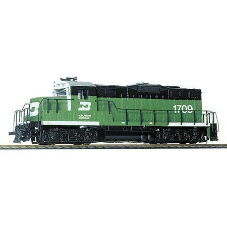 - Walthers Trainline HO Scale EMD GP9M Locomotive Burlington Northern/BN #1709
