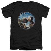 ET the Extra Terrestrial Gertie Kisses Mens V-Neck Shirt