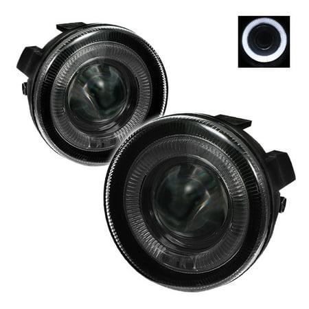 Spyder Halo Projector Fog Lights (Smoke) - 01- 04 Dodge Dakota FL-P-DDAK01-HL-SM