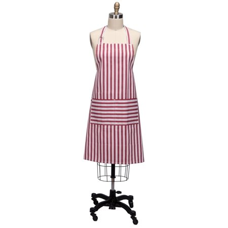 Kay Dee Designs R9211 Everyday Basics Chef Apron, Cardinal