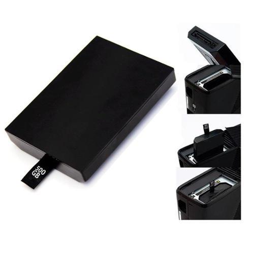 agptek Hard Drive Disk Kit FOR XBOX 360 Internal Slim Bla...