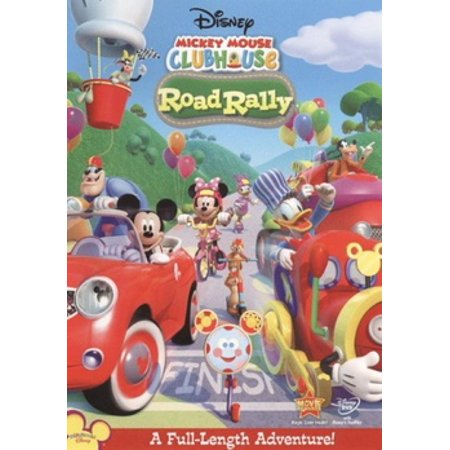 Mickey Mouse Clubhouse: Road Rally (DVD) (Mickey Mouse Club Halloween Episode)