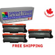 Compatible Brother TN660, TN-660 Replacement 3 Pack Black High Yield Sprint Toner Cartridges