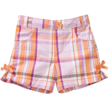 Faded Glory - Baby Girls' Bow Shorts