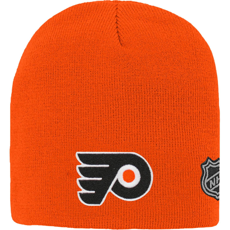 Philadelphia Flyers Youth Basic Knit Beanie - Orange - OSFA