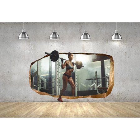 startonight 3d mural wall art photo decor sexy girl at and