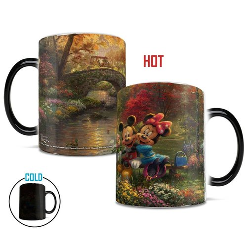Morphing Mugs Disney Mickey and Minnie Mouse Sweetheart Central Park New York Coffee Mug