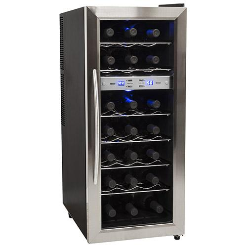 EdgeStar 21 Bottle Dual Zone Wine Cooler