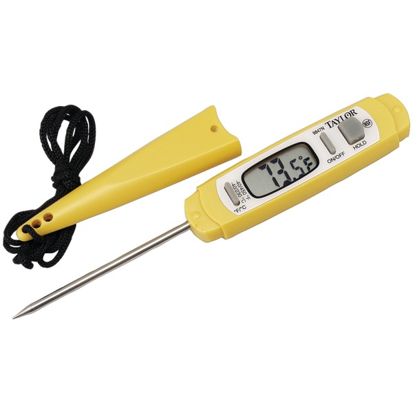Taylor(R) Precision Products 9847N Antimicrobial Instant-Read Digital Thermometer