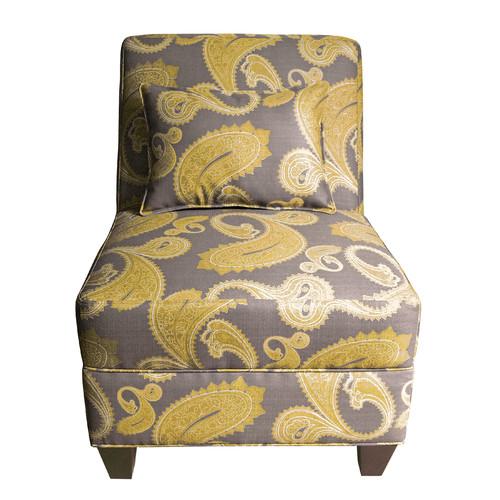 HomePop Ava Accent Slipper Chair