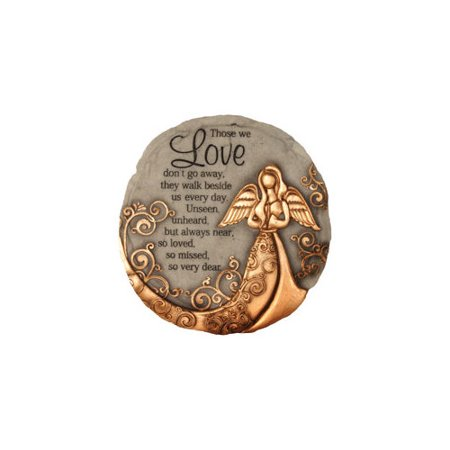 SPOONTIQUES 13260 9 STEPPING STONE  BRONZE ANGEL (Best Of Angie Stone)