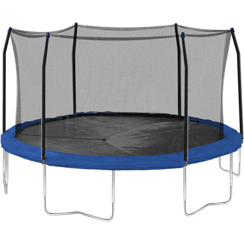 Skywalker Tr&olines 15-Foot Tr&oline with Safety Enclosure Blue  sc 1 st  Walmart & Skywalker Trampolines 15-Foot Trampoline with Safety Enclosure ...