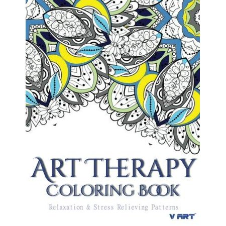 Art Therapy Coloring Book Art Therapy Coloring Books For
