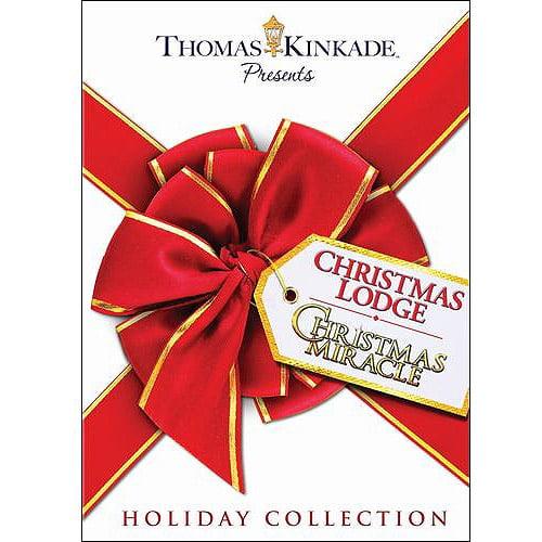 Thomas Kinkade Presents Holiday Collector's Set: Christmas Lodge / Christmas Miracle