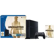 Sony PlayStation 4 3001491 500 GB Uncharted: The Nathan Drake Collection Gaming Console Bundle - Jet