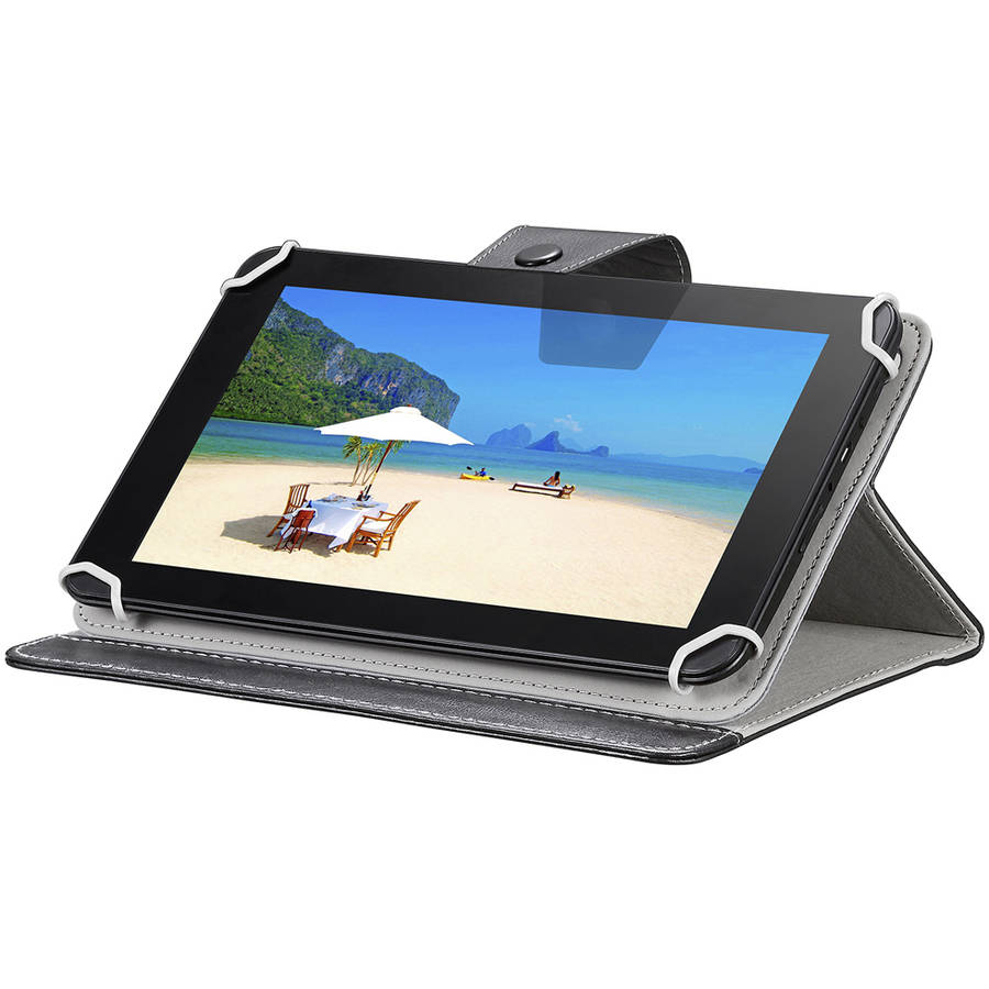 "TG 960C 9"" Quad Core Tablet with Custom Leather Case"