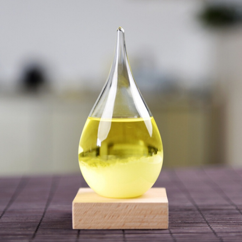 ENJOY Mini European Style Glass Weather Forecasts Bottles Unique Gifts Glass Crafts Desktop Decoration