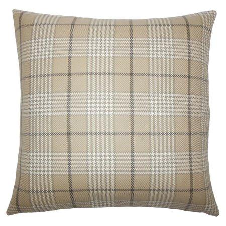 Pillow Collection Landen Houndstooth Decorative Pillow