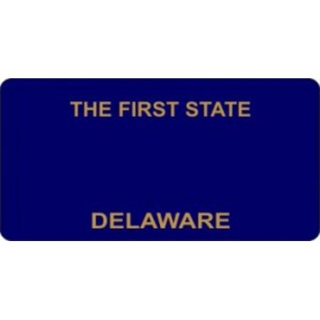 Delaware Today Online - Design It Yourself Custom Delaware Plate #2. Free Personalization on Plate