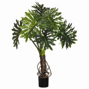 Tori Home Plume Split Leaf Tree in Pot Liner Liner