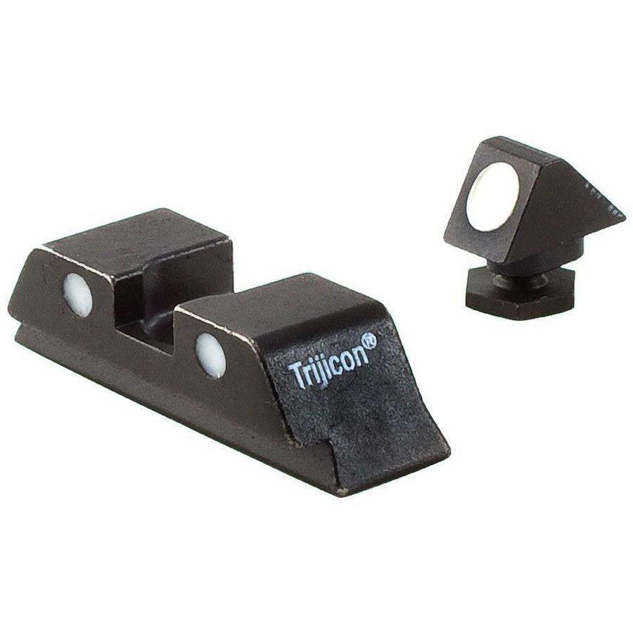 Trijicon GL05 Bright and Tough All Glock 3Dot White Front Rear No Tritium by TRIJICON INC