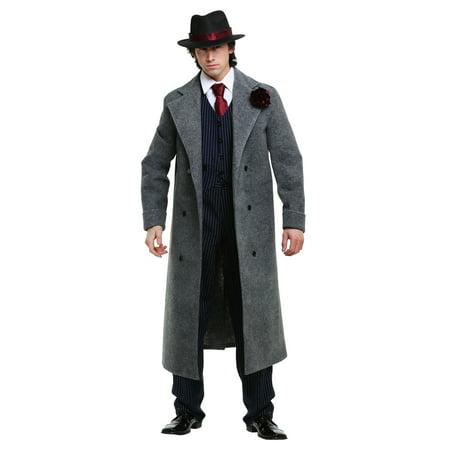 Cold Blooded Mobster Mens Costume - Mobster Costume Ideas