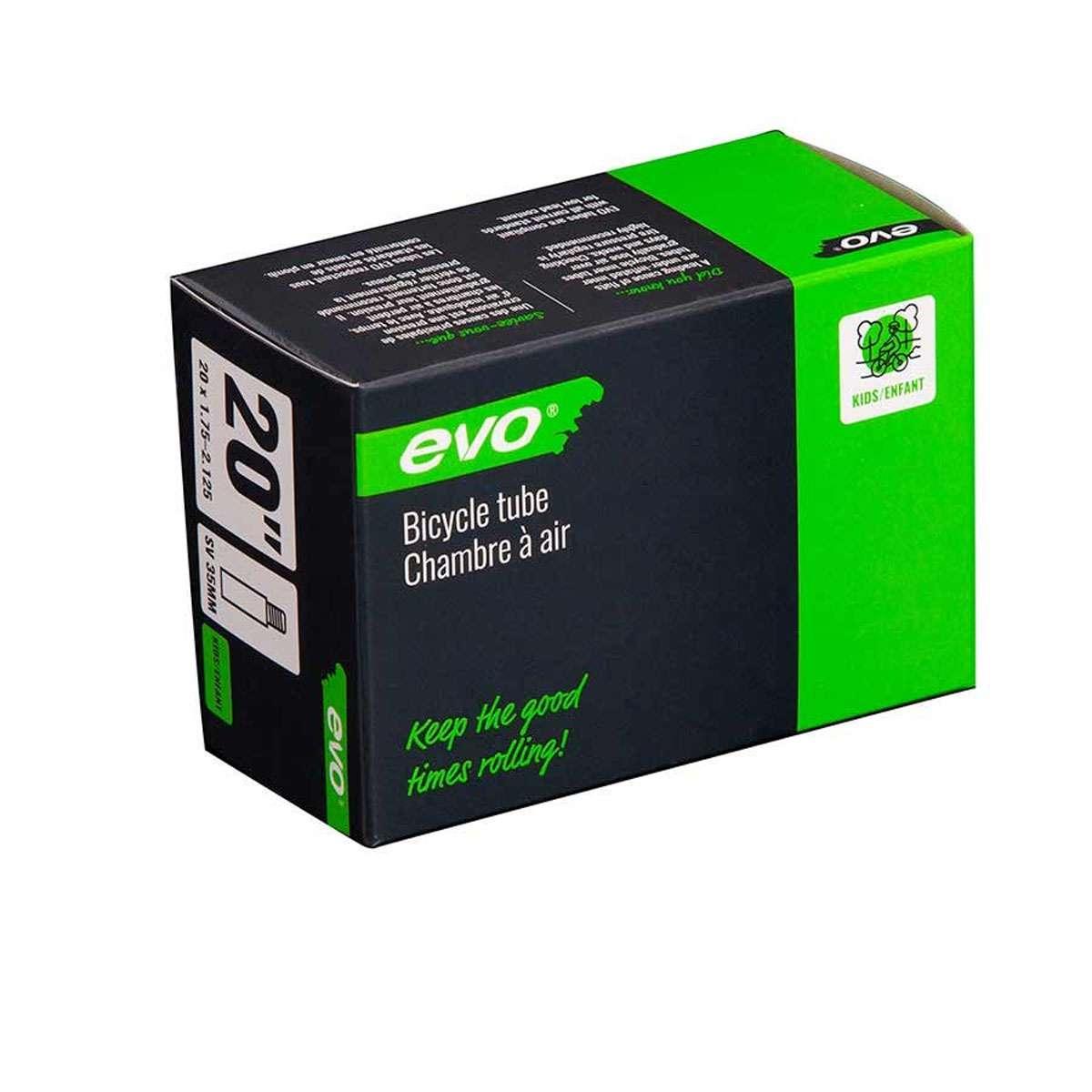 Evo Bicycle Tube - Schrader, 35mm, 20', 1.75-2.125 - 14EV.020176-07