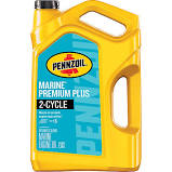 Pennzoil Marine 2 Cycle Engine Oil, 1 Gal
