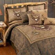 Whitetail Ridge Comforter Set - Queen Size