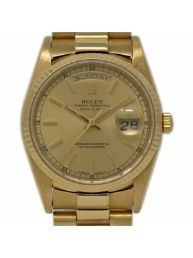 c6efd367c7da Product Image Pre-Owned Rolex Day-date 18238 Gold Watch (Certified  Authentic   Warranty)