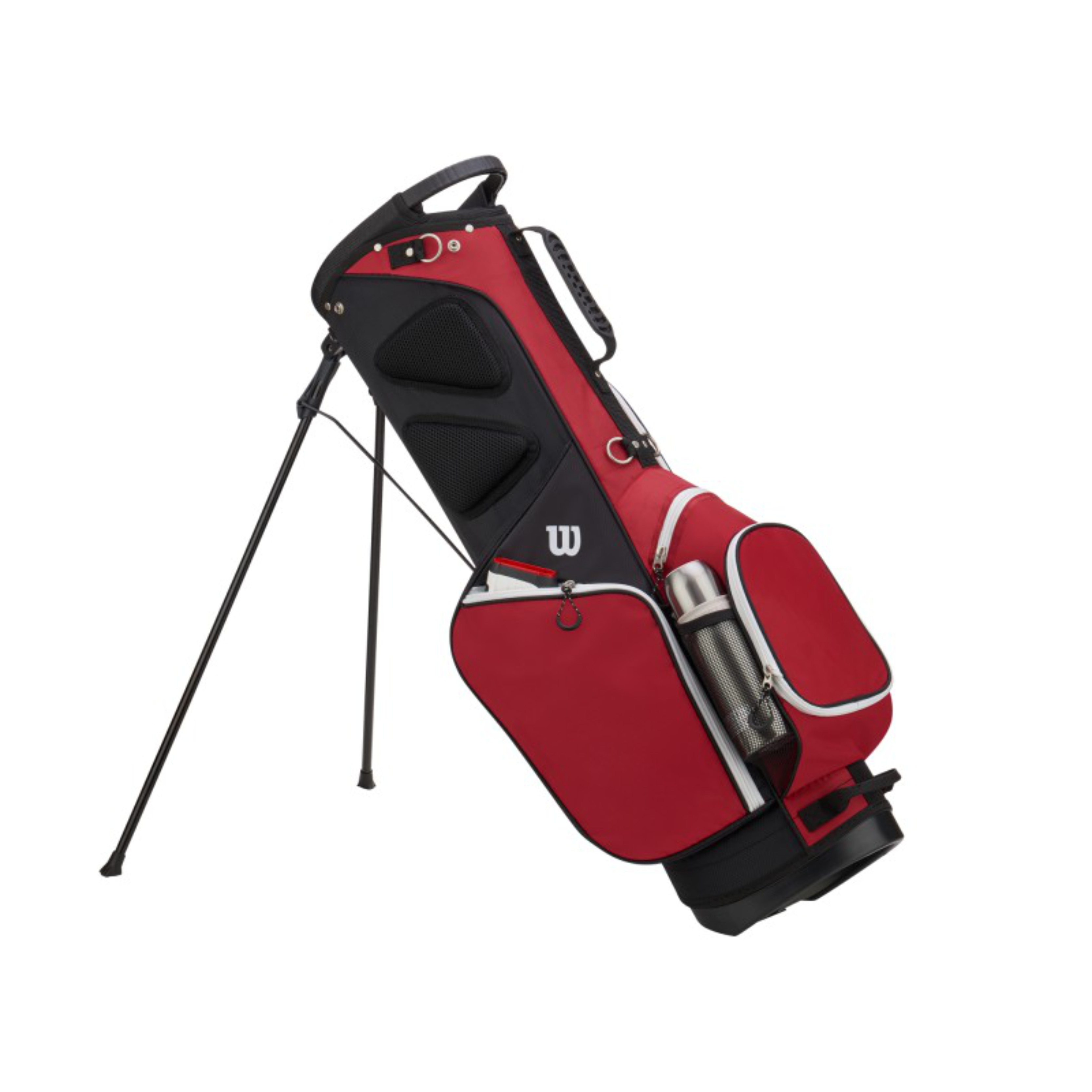 Wilson W Carry Golf Bag Black
