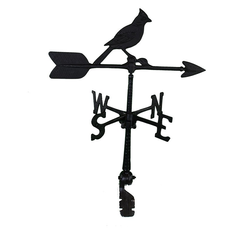 Montague Metal Products WV-125 100 Series 24 inch Cardinal Weathervane
