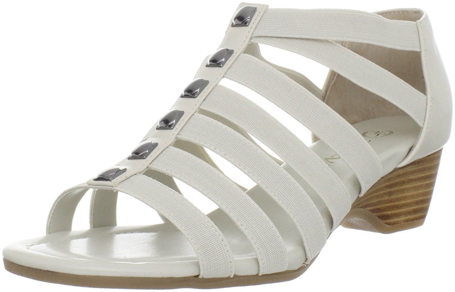 Bella Vita Womens paula11 Fabric Open Toe Casual Strappy Sandals by Bella Vita