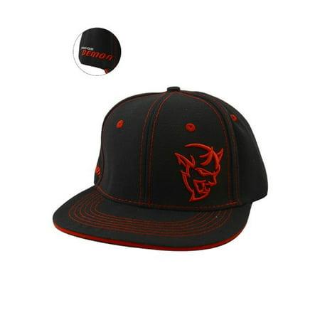 Dodge Demon Flat Brim Hat