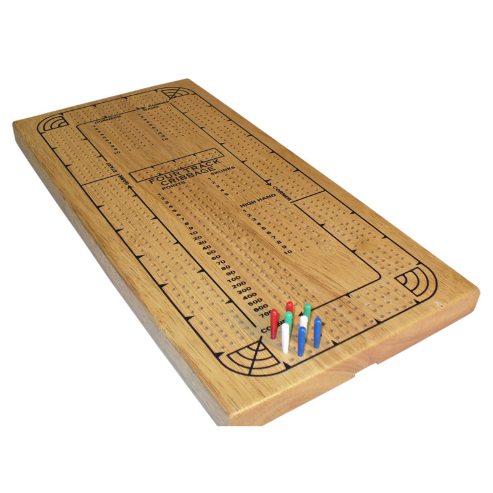 4-Player Continuous Track Cribbage Set