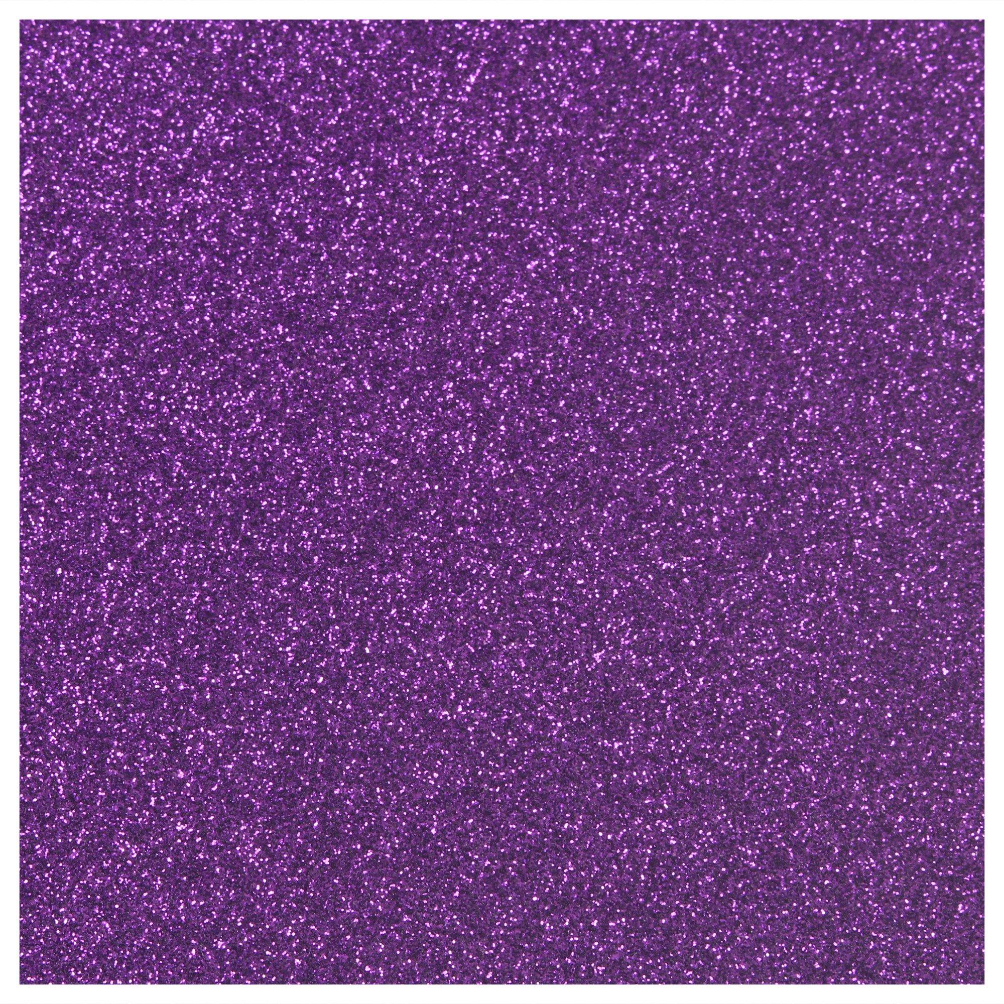 Siser Glitter Heat Transfer Material - Purple