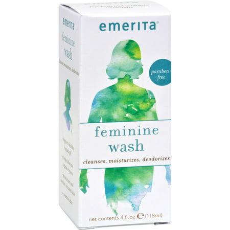 Emerita Feminine Cleansing And Moisturizing Wash 4 Fl Oz