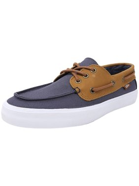 50f45c5a6f Product Image Vans Men s Chauffeur Sf C And L Navy   Chambray Ankle-High  Leather Flat Shoe