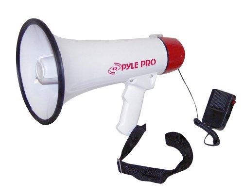 Pyle Pmp40 Professional Megaphone / Bullhorn W/siren And Handheld Mic