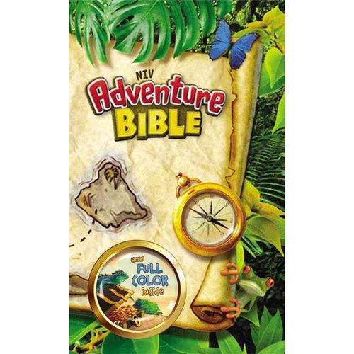 Adventure Bible: New International Version, 3D Cover