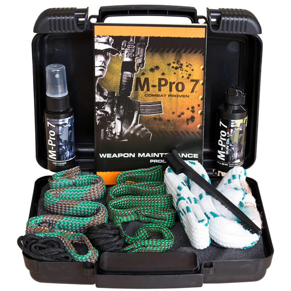 M-PRO 7 TACTICAL CLEANING KIT 3 GUN BOX