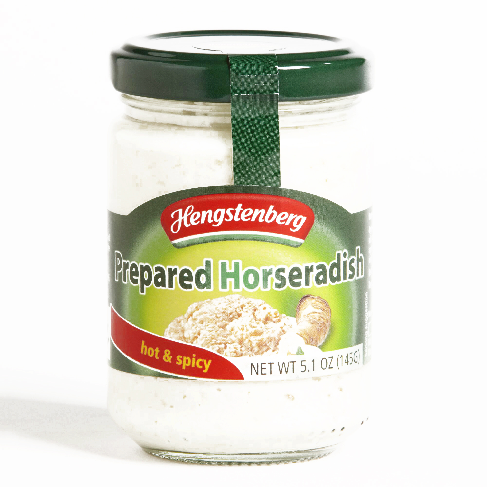 Hengstenberg Prepared Horseradish \t5.1 oz each (2 Items Per Order, not per case) by