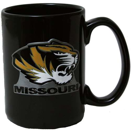 Missouri Tigers 15oz Black Ceramic Mug