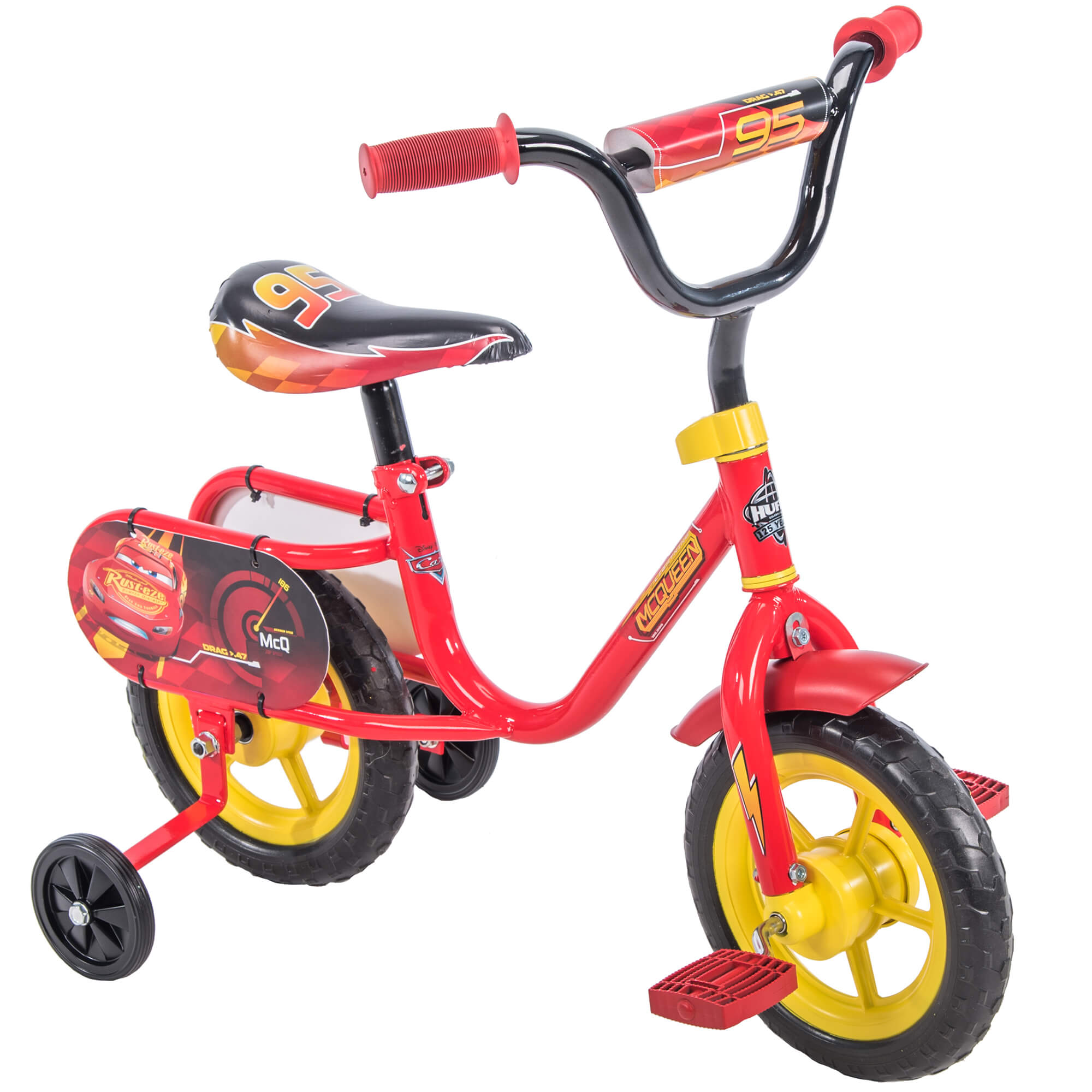 "Disney   Pixar Cars Lightning McQueen 10"" Boys' Pedal Bike by Huffy by Huffy"